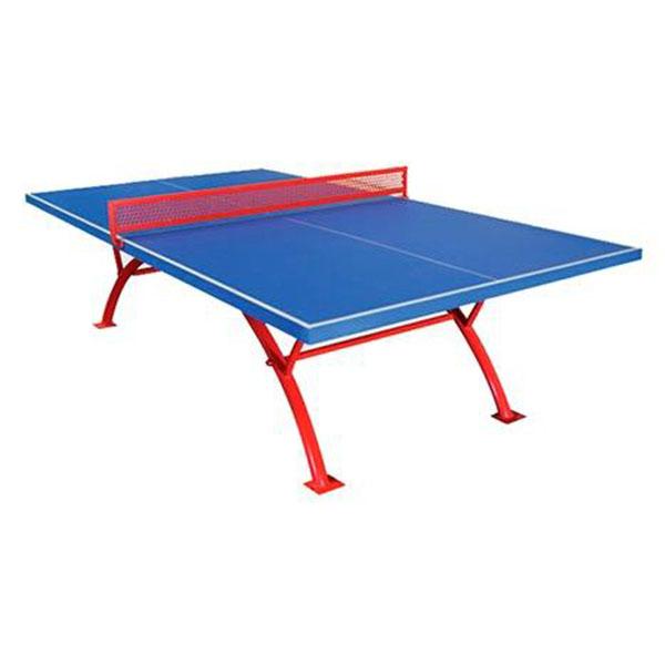 Mesa ping pong exterior fija lanpez for Mesa de ping pong exterior